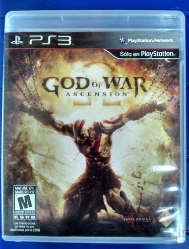 Se Vende God Of War Acencion A 12.000 / Juego Ps3