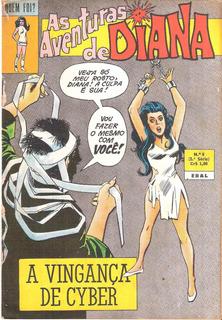 Quem Foi Nº 8- Aventuras De Diana - Maio/1973 - Ebal
