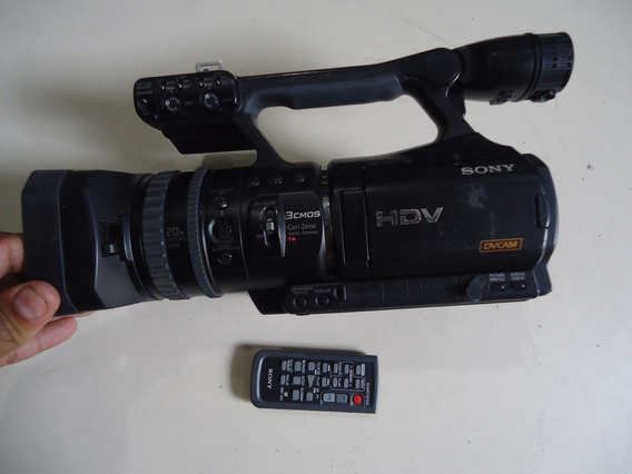 Filmadora Profissional Sony Hvr-v1n Hdv 1080i Sem Assesorios
