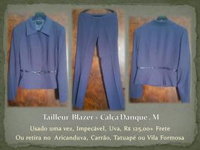 Tailleur Blazer + Calça Danque . M
