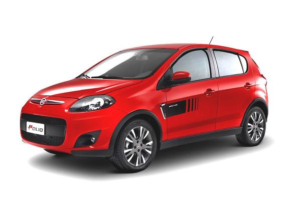 Calha De Chuva Para Novo Fiat Palio 4 Portas Tg Poli
