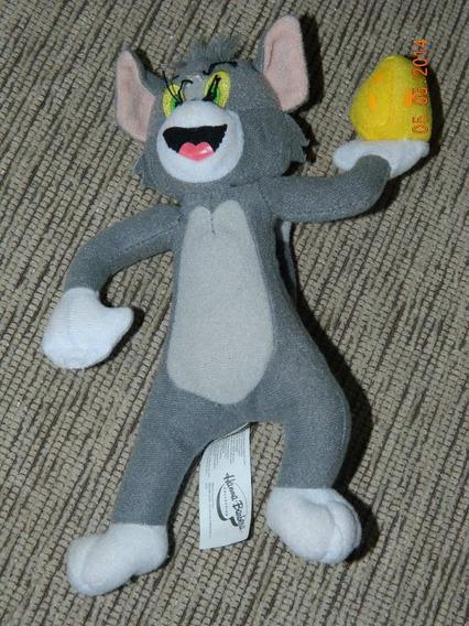 Pelúcia Gato Tom E Jerry 18cm Hanna Barbera Desenho Animado
