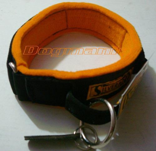 Imagen 1 de 5 de Collar Intervención T18 Nylon Fieltro Asa Guardia Silverado