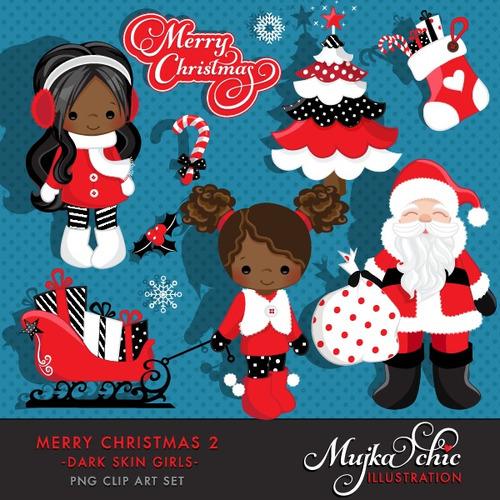 Kit Imprimible Navidad Imagenes Clipart Cod 75