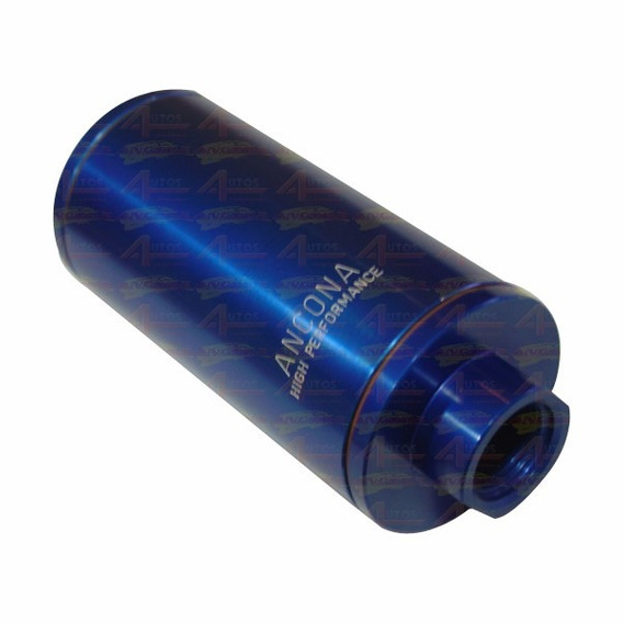 Filtro Combustivel Azul Elemento Aço Inox Cód.:02709