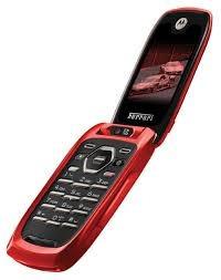 Celular Nextel I897 Ferrari Edicion Red Flip Con Tapa Libre