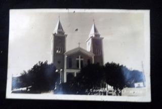 Cartão Postal Antigo São Gonçalo Do Sapucaí Mg