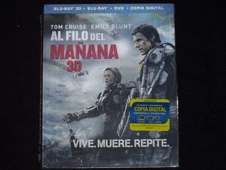 Blu Ray Al Filo Del Mañana ( Cover Lenticular / 3d+2d+dvd)