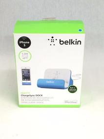 Base Belkin Charge + Sync iPhone 5 6 ,6 Plus Na Caixa