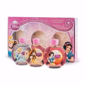 Kit Colonia Princesas Da Disney Para Meninas