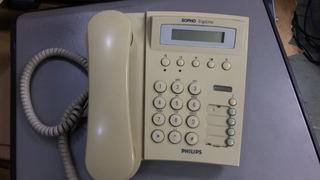 Telefone Philips Sopho Ergoline D320-2 Digital