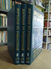 Enciclopedia De Bricolage 3 Vols Otimo Estado Completa