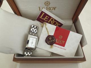 Reloj Le Roy Chronometro Caja Y Papeles
