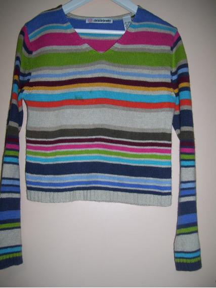 Sweter Tejido En Hilo Talle 7-8 Años