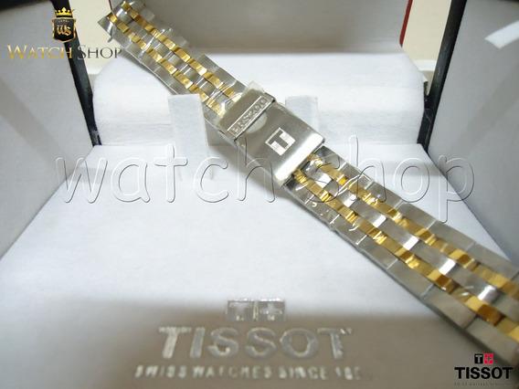 Pulseira De Aço Tissot Prs200 T067417 Dourada - Original