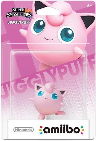 Figura Amiibo Jigglypuff Para Nintendo Super Smash Bros