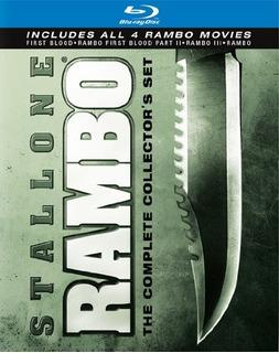Blu Ray Rambo Collector
