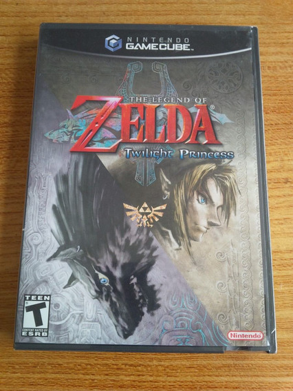 The Legend Of Zelda Twilight Princess Gamecube ( Lacrado)