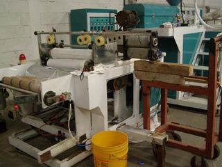 Máquina Para Fabricar Película Stretch Emplaye 18 X1200 Pies