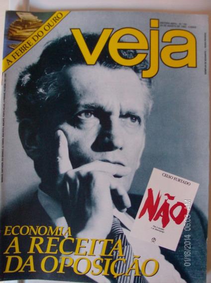 Revista Veja N- 781 A Febre Do Ouro Economia Celso Furtado