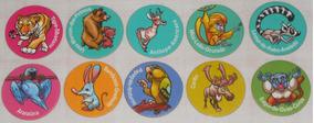 Lote Com 10 Tazos Zaps Ping Pong Coleção Animais Em Extinção