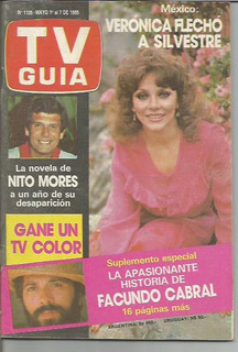 Tv Guia / N° 1135 / 1985 / Chichita De Erquiaga / F Cabral /