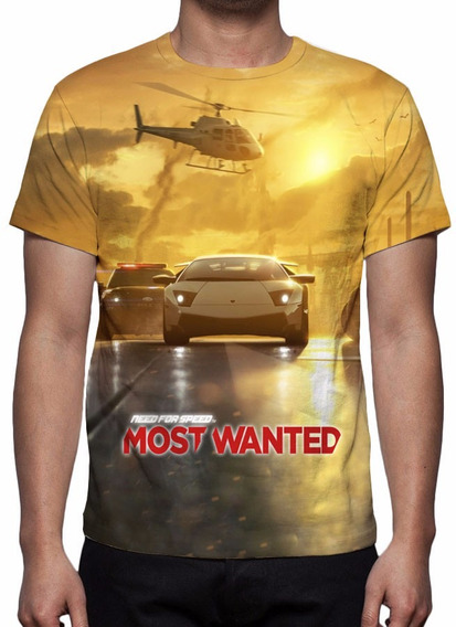 Camiseta Jogo Need For Speed Most Wanted Frete Grátis