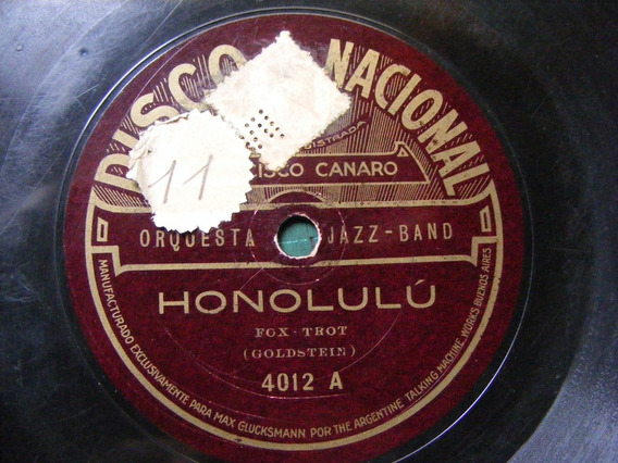 Francisco Canaro Coleccion Discos Pasta 78rpm Odeon Nacional