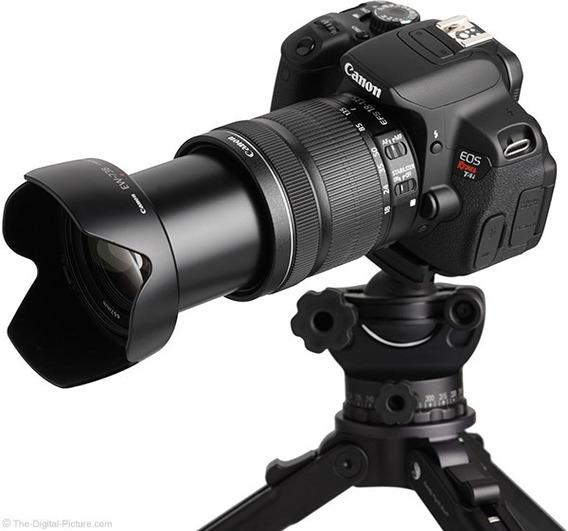Nova Lente Canon Ef-s 18-135mm Nano Is Usm C/ Nf-e +garantia