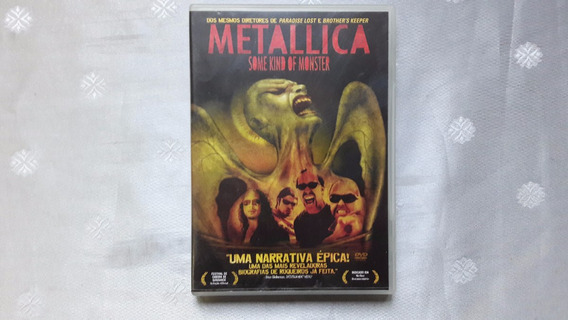 Dvd Metallica - Some Kind Of Monster - Duplo