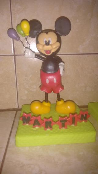 Adorno De Torta O Central De Mesa De Mickey