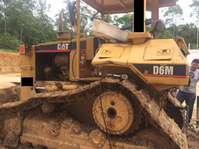 Trator Esteira Caterpillar D6m Com Riper