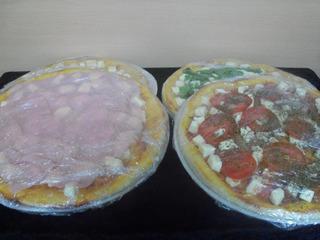 Pizza Party Listo Para Cocinar Muzzarella Jamón Rucula