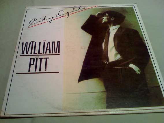 Disco Lp William Pitt City Lights High Energy Single