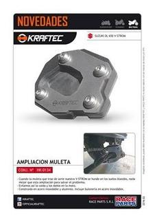 Ampliacion De Muleta Kraftec Suzuki Vstrom 650 Cuotas