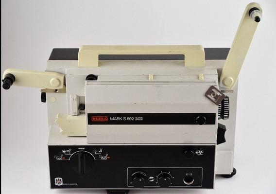 Projetor Eumig Mark S0802 Austriaco Antigo + Tela Projeção