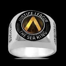 Anillo The Sea King Aquaman Justice League Varias Tallas