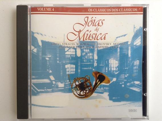 Cd Jóias Da Música Clássicos Dos Clássicos Grieg Verdi Listz