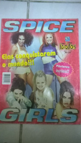 Revista Poster Spice Girls 2