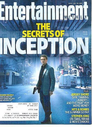 E Weekly: Leonardo Dicaprio / Stephen King / Milla Jovovich