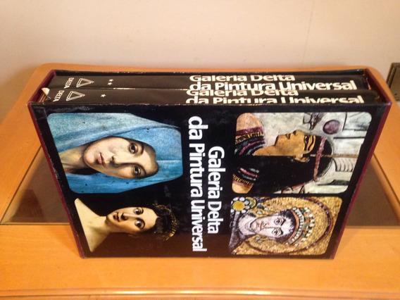 Coleção Completa Galeria Delta Da Pintura Universal 2 Livros