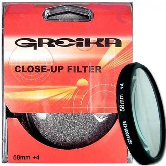 Filtro Close Up 58mm +4 - Greika