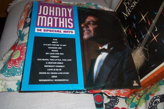 Lp Johnny Mathis 14 Special Hits Ref 75