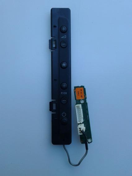 Teclado Pci Funções S Remoto Philips 32pfl3406d,32pfl3605d
