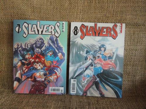 Hq Ou Mangá Slayers 7 E 8 Hajime Kanzaka Panini Comics