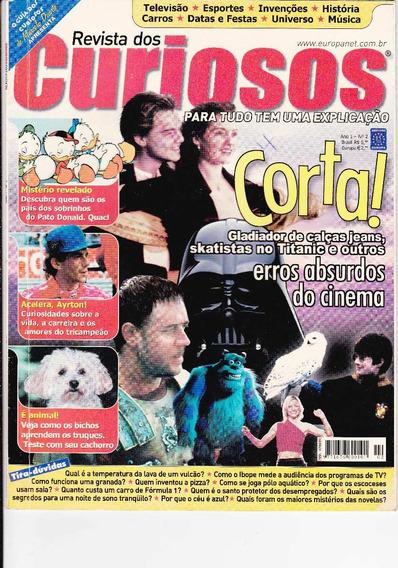Revista Dos Curiosos Nº 2 - Abril De 2002