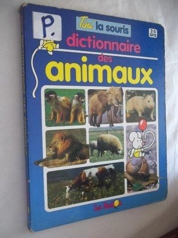 Livro- Dictonnaire Des Animaux - Dicionario Francês(animais)