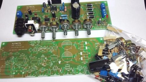 Kit Placa Amplificador100w C/pre-mix Equalizador (p/ Montar)