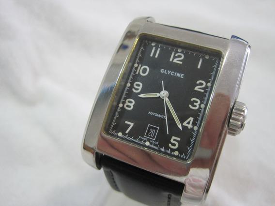 Glycine Classic, Automatico, Quadrado 36x39mm, Exc. Estado