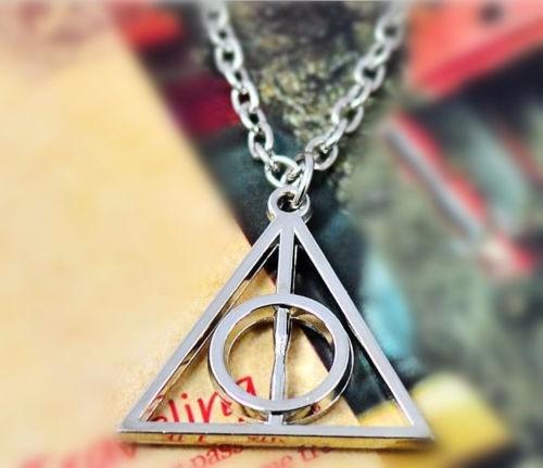Colar Pingente Harry Potter Relíquias Da Morte